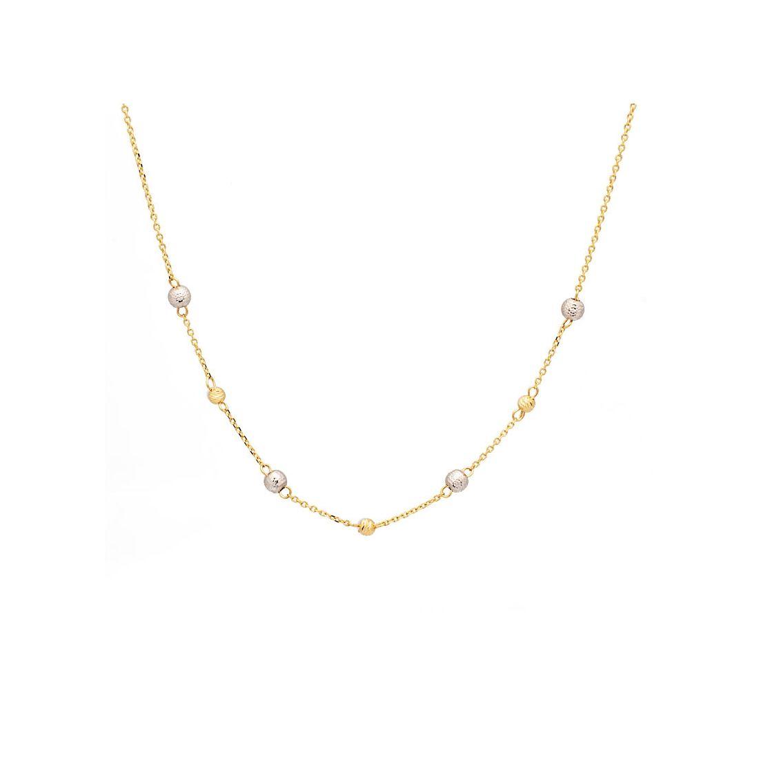 Gargantilla de oro bicolor  - 1