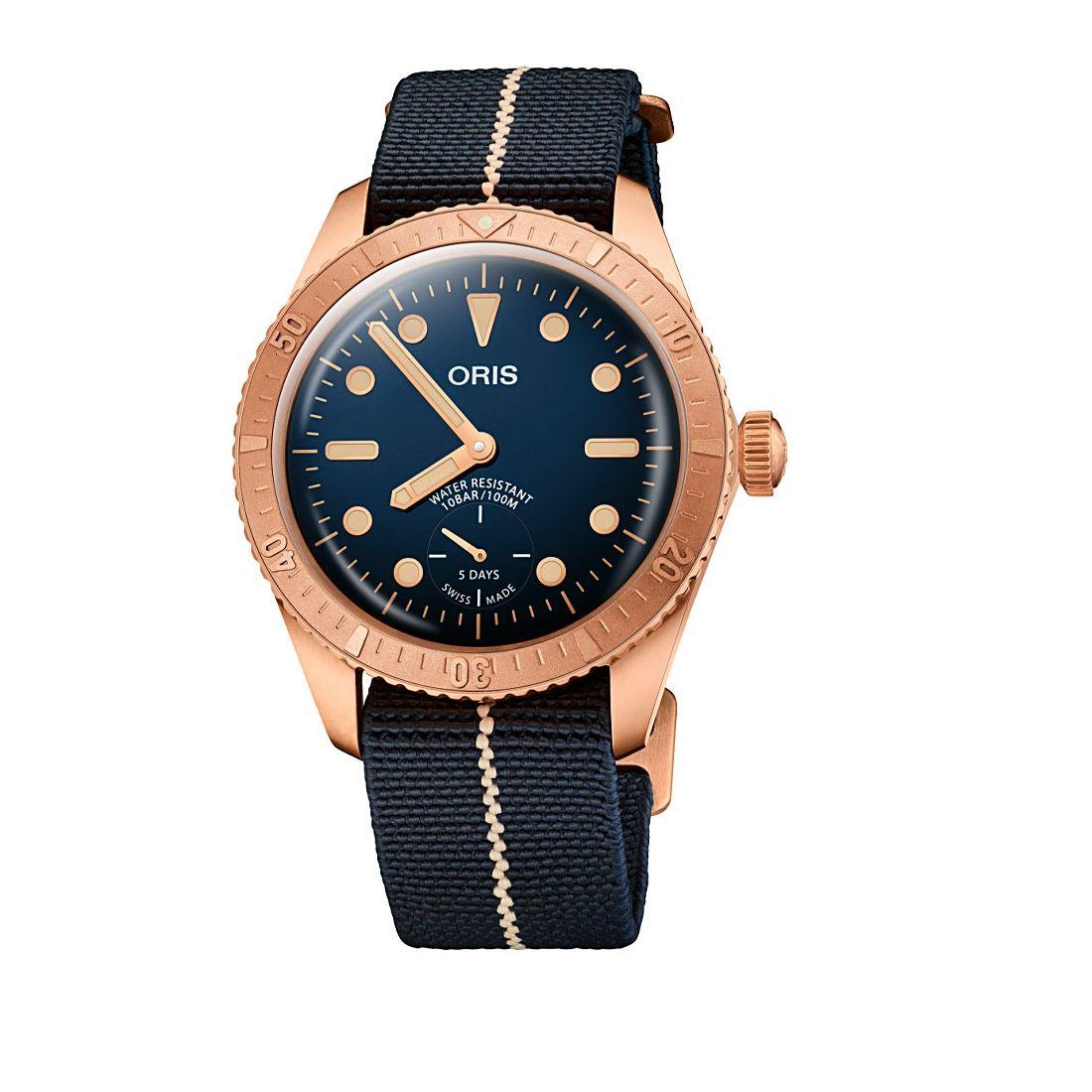 Reloj Oris Carl Brashear Calibre 401 Limited Edition - 01 401 7764 3185-Set  - 1