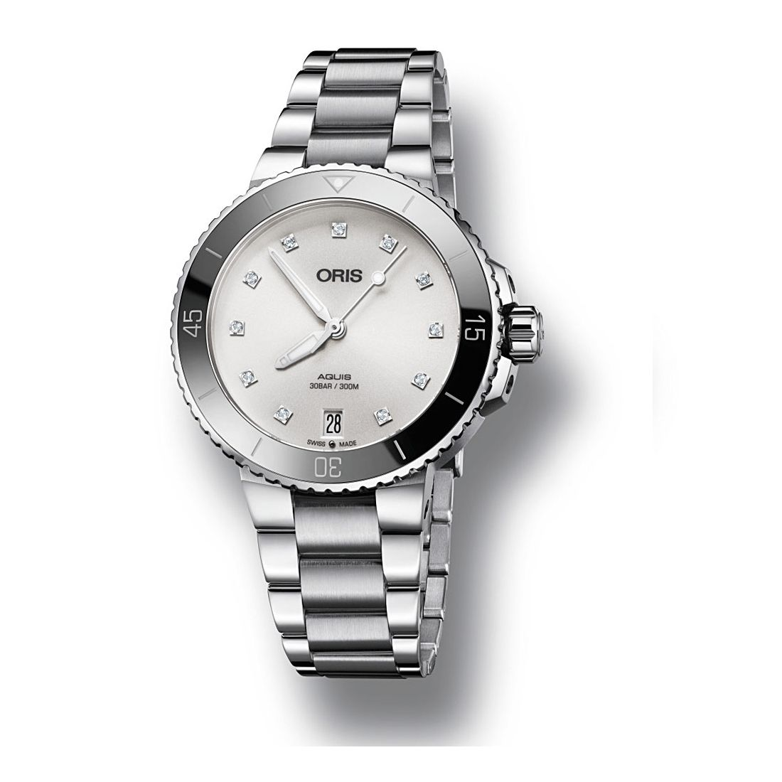 Reloj Oris Aquis Date Diamonds - 01 733 7731 4191-07 8 18 05P  - 1