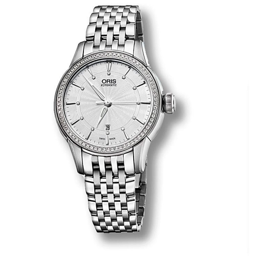 Reloj Oris Artelier Date Diamonds - 01 561 7687 4951-07 8 14 77  - 1