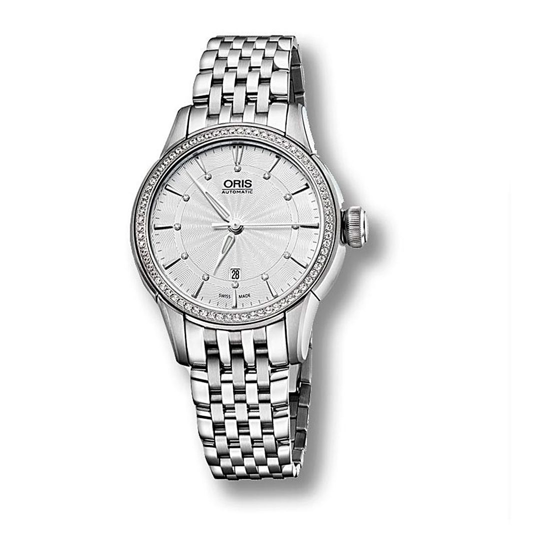 Reloj Oris Artelier Date Diamonds - 01 561 7687 4951-07 8 14 77  - 1