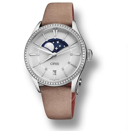 Reloj Oris Artelier Grande Lune Date Diamonds - 01 763 7723 4951-07 5 18 33FC  - 1