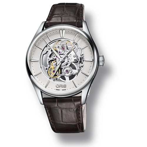 Reloj Oris Artelier Skeleton 01 734 7721 4051-07 5 21 65FC  - 1