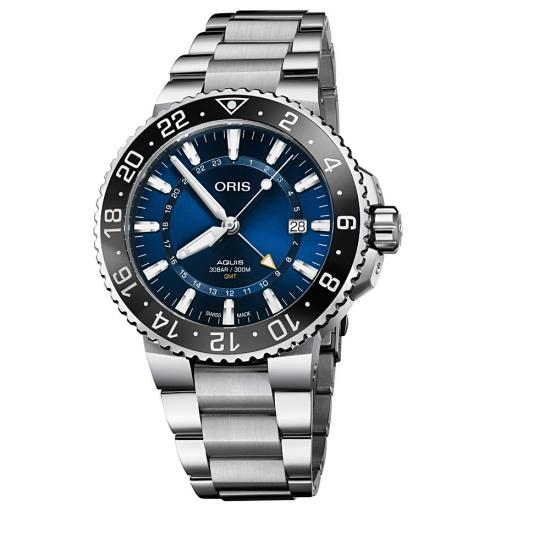Reloj Oris Aquis GMT Date - 01 798 7754 4135-07 8 24 05  - 1
