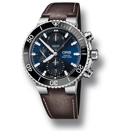 Reloj Oris Aquis Chronograph - 01 774 7743 4155-07 5 24 10EB  - 1