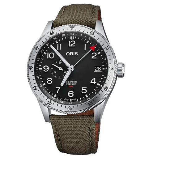 Reloj Oris Big Crown Propilot Timer GMT - 01 748 7756 4064-07 3 22 02  - 1